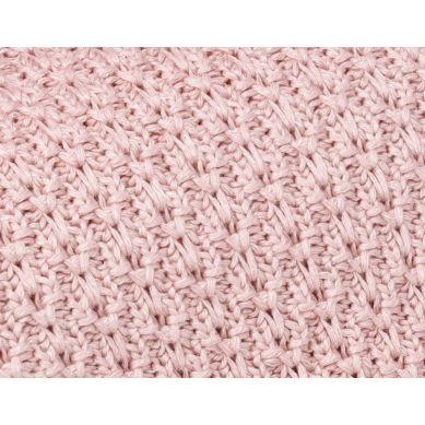 My Memi - Bambusowy Kocyk 80x100 Powder Pink Chain