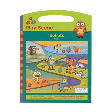 Mudpuppy - Zestaw Naklejek Roboty