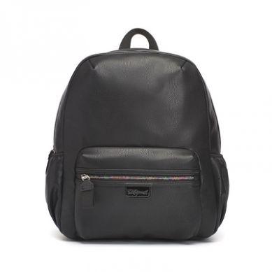 Babymel - Plecak dla Mamy Luna Black Leather