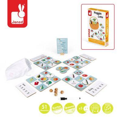Janod - Gra Strategiczna Warzywna Loteria 5+