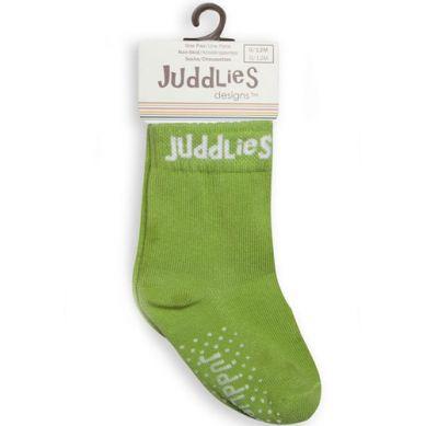 Juddlies - Skarpetki White/Greenery 0-12m