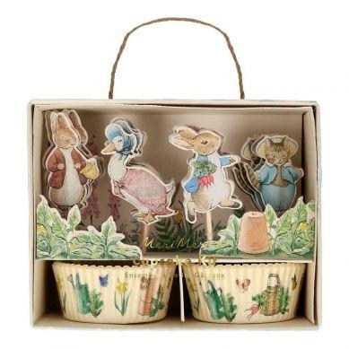 Meri Meri - Zestaw do Babeczek Peter Rabbit & Friends