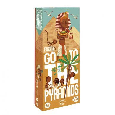 Londji - Puzzle Dla Dzieci Ruszaj do Piramid! 5/8 lat