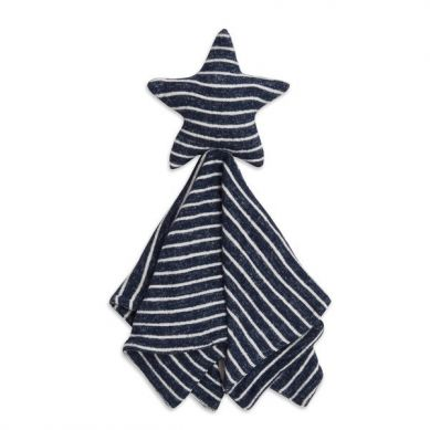 aden + anais - Miękka Przytulanka Snuggle Knit - Navy Stripe