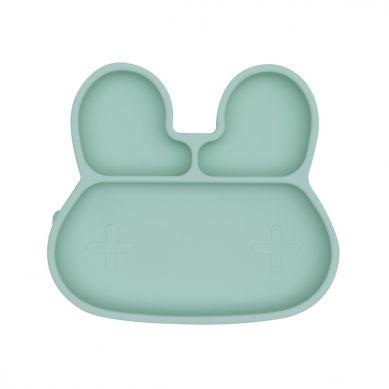 We Might Be Tiny - Silikonowy Talerzyk z Przyssawką Króliczek Minty Green