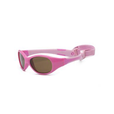 Real Kids - Okularki dla Dzieci Explorer Polarized Pink and Pink 0+