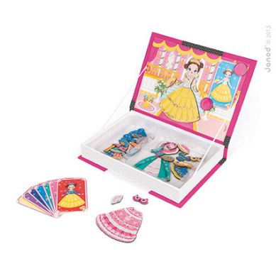 Janod - Magnetyczne Pudełko Księżniczki