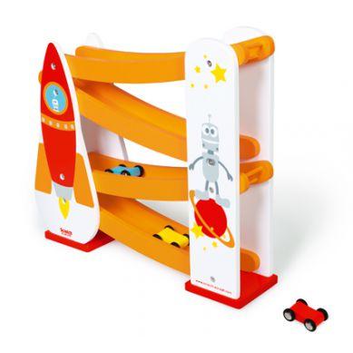 Scratch - Zjeżdżalnia dla Samochodów Rakieta 3+