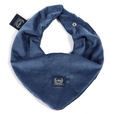 La Millou - Apaszka Velvet Collection Harvard Blue