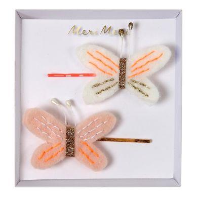 Meri Meri - Wsuwki do Włosów Motylek
