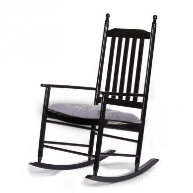 Childhome -  Bujany Fotel Czarny Adult