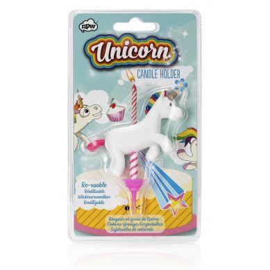 NPW ROW - Uchwyt na Świeczkę Urodzinową Unicorn