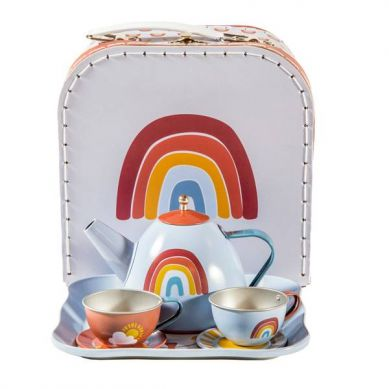 Little Dutch - Tea Set Pure & Nature 3+