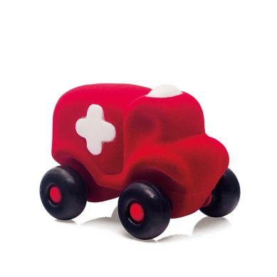 Rubbabu - Karetka Sensoryczna Czerwona Mikro