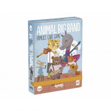 Londji - Gra Karciana dla Dzieci Zwierzęcy Muzyczny Big Band 3+