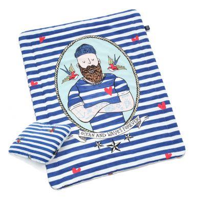 La Millou - Komplet Pościeli L Barber Sailor & Strips