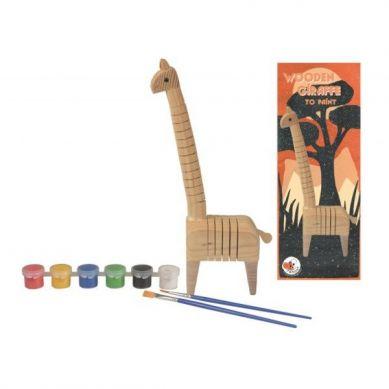 Egmont Toys - Drewniana Żyrafa do Pomalowania 3+
