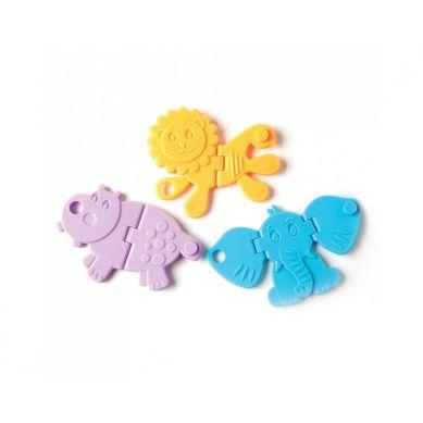 Fat Brain Toys - Gryzaki Chrupiące Zwierzątka Animal Crackers