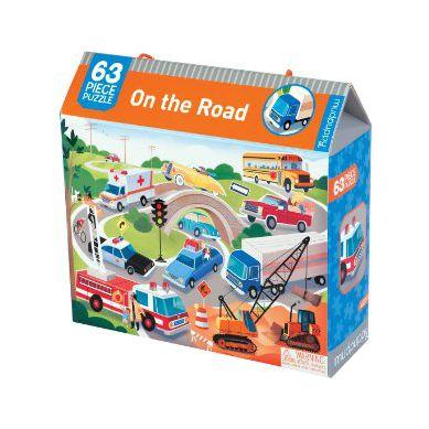 Mudpuppy - Puzzle w Pudełku 63 Na Drodze