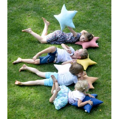 Muzpony - Poduszka w kształcie Gwiazdy Blink Honey