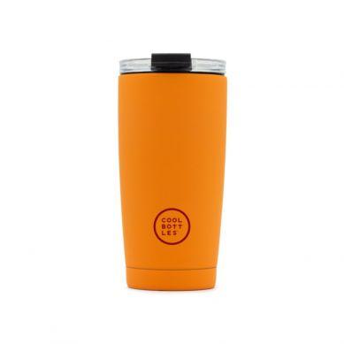 Cool Bottles - Kubek Termiczny 550  ml Triple cool Vivid Orange