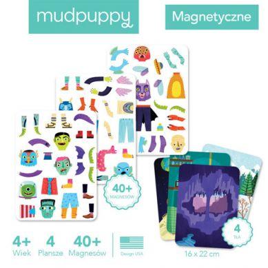Mudpuppy - Magnetyczne Postacie Magiczne Potwory 4+