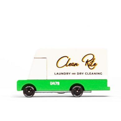 Candylab - Samochód Drewniany Laundry Van