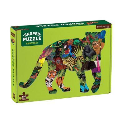 Mudpuppy - Puzzle Las Deszczowy 300el 7+