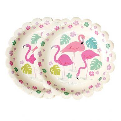 Rex - Zestaw Talerzyków Urodzinowych Flamingo Bay