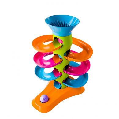 Fat Brain Toys - Zakręcona Wieża dla Kulek RollAgain
