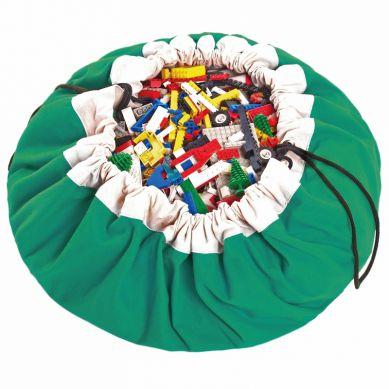 Play & Go - Worek na Klocki Zielony