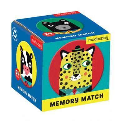 Mudpuppy - Gra Mini Memory Zwierzęcy Przyjaciele 3+
