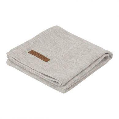 Little Dutch - Otulacz 120 x 120cm Pure Grey