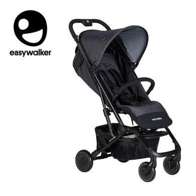 Easywalker - Buggy XS Wózek Spacerowy Z Osłonką Przeciwdeszczową Melange Grey