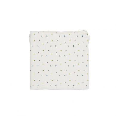 Baby Bites - Pieluszka Muślinowa 120x120 cm Flies White