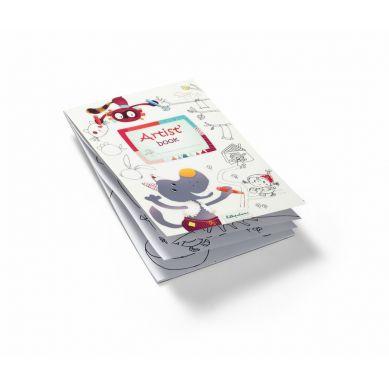 Lilliputiens - Artist Books Kolorowanka Wilk Nicolas