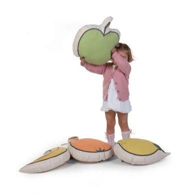Childhome - Poduszka Jabłko Kanwas