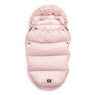 Elodie Details - Puchowy Śpiworek do Wózka  Powder Pink