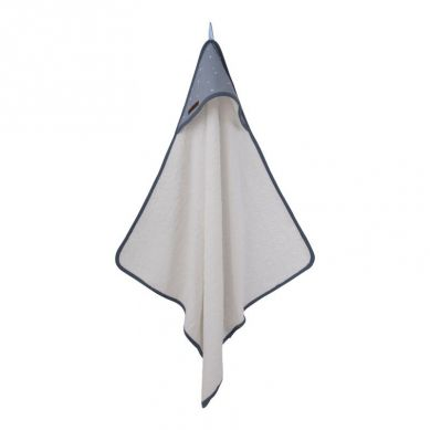 Little Dutch - Bawełniany ręcznik Little Stars Blue