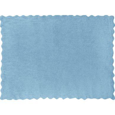 Aratextil - Dywan Bawełniany do Prania w Pralce Herbatnik Błękitny 120x160cm