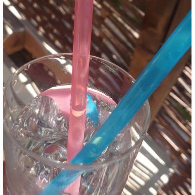 Fommi - Słomki Wielorazowe Pink/Blue 2szt