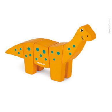 Janod -  Drewniany do Złożenia Brachiozaur