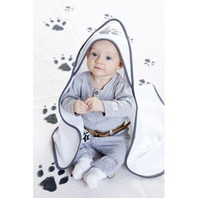 Kids Concept - Ręcznik z Kapturem Biały NEO