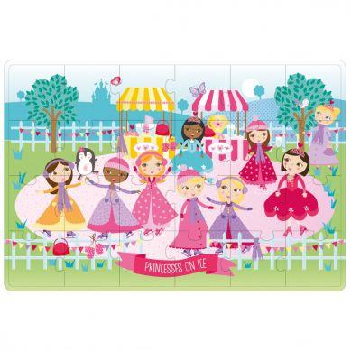 Apli Kids - Puzzle XL Księżniczki na Łyżwach 3+