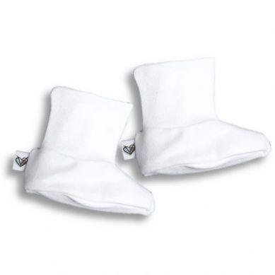 Nanaf Organic - Buciki Basic Białe 50cm