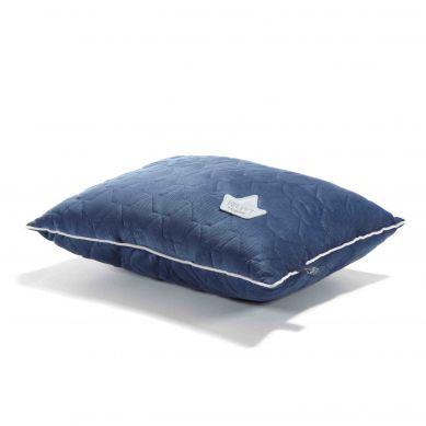 La Millou - Poduszka Big Pillow Velvet Collection Harvard Blue