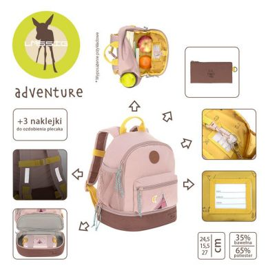 Lassig - Plecak Mini Adventure Tipi