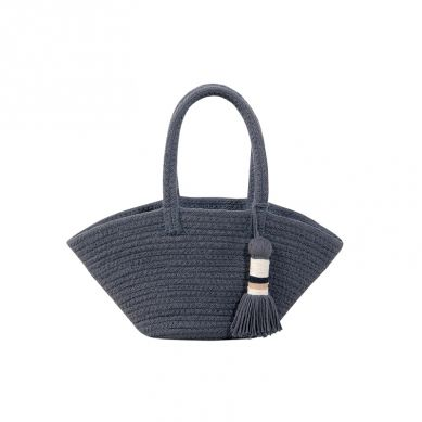 Lorena Canals - Kosz Basket Cistell Dark Grey Small