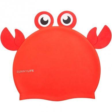 Sunnylife - Czepek do Pływania Crabby 3+