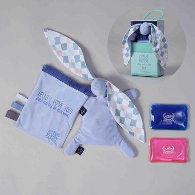 La Millou - Velvet Collection Thermo Bunny Powder Blue La Millou Family Chessboard